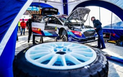 BRC Champion to join M-Sport for pre-event test