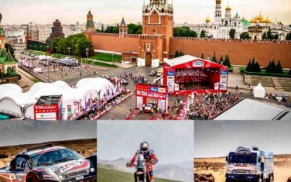 Silk Way Rally: modification of itinerary for 2020 edition