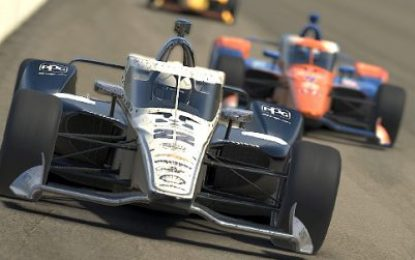 Pagenaud masters Motegi oval to win virtual Firestone 175 with Daly 11th