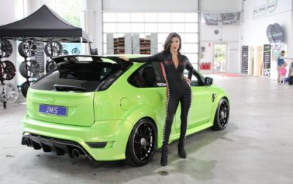 Schmidt rims & more modifications for Ford Focus RS