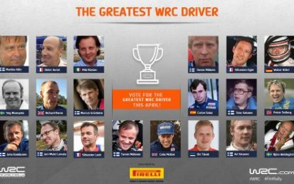 Quest begins to crown WRC's all-time greatest driver