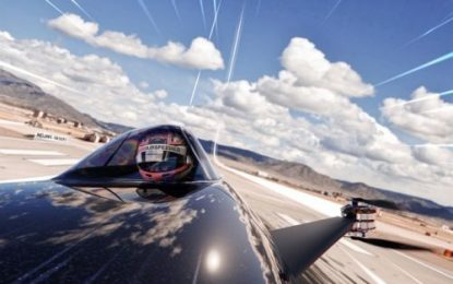 AIRSPEEDER: World's first flying electric car racing series makes giant leap forward