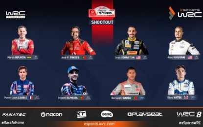 WRC faces Moto GP on virtual Portuguese rally battleground