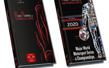 Who Works in Formula One & Who Works in Motorsports: 2020 Editions; Now Available