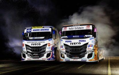 Revealed: IVECO S-WAY R racing trucks for Team Hahn Racing & Team Schwabentruck