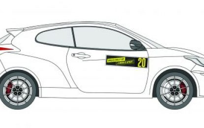 Exciting 'Design a Rally Car Livery' initiative open