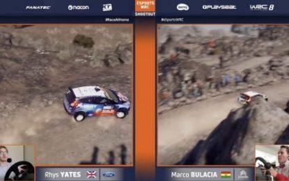 Yates wins eSports WRC Shootout on sim driving debut