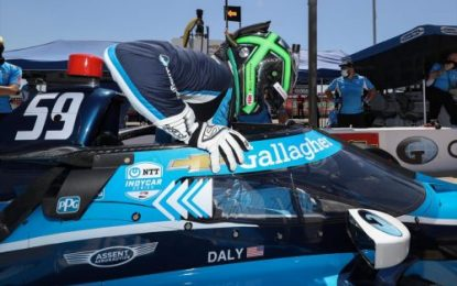 INDYCAR: Genesys 300 race results; Daly finishes 6th from 19th (Q)