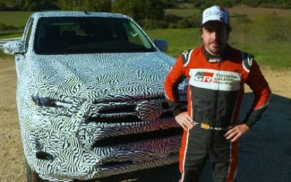New 2020 Toyota Hilux; as Tested by Fernando Alonso