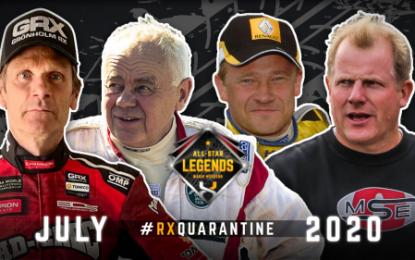 Grönholm & Eklund headline 'Fab Four' early 'Legends' RX entries