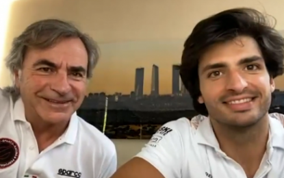 From Rally to F1: Interview with Carlos Sainz Jr and Sr, by Sparco