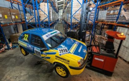 Palletstorage.ie supports 2020 Fiesta Zetec Championship