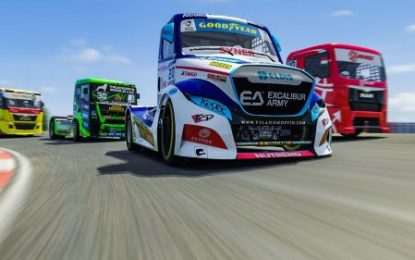 EU Truck Racing: Calvet beats Kiss! First ETRC Digital win for Buggyra!