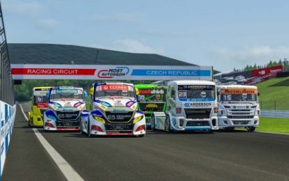 FIA European Truck Racing Championship Digital: Calvet second in Most, Lacko getting faster