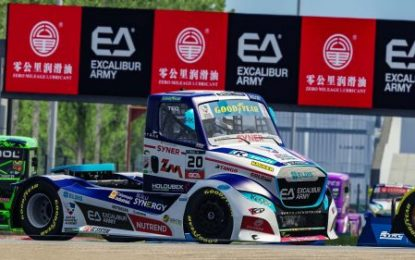 Buggyra Zero Mileage Racing's Calvet bravely fighting for European Truck Virtual Racing Championship podium!
