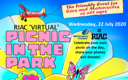 Support the RIAC 'Virtual' Picnic in the Park on Wednesday, 22nd July