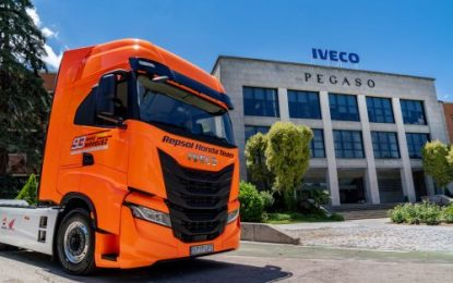 IVECO teams up with the Repsol Honda MotoGP