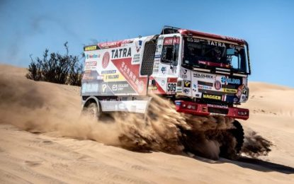 Tatra Trucks extends cooperation with Buggyra Racing