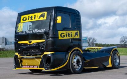 New Giti Tire racing truck secures 4 podiums on European debut