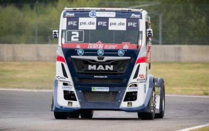 T Sport Bernau MAN – Tests TGS at Nogaro
