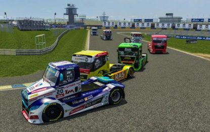 Buggyra's Calvet victorious in final race of European Truck Racing digital series: Takes 3rd place overall