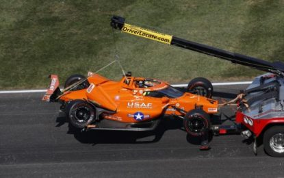 Indy 500 2020: Daly crashes out as Sato wins again
