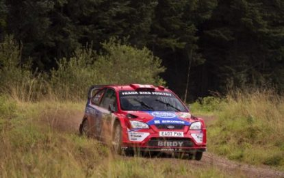 M-Sport Return to Rally Stages saw 45 competitors