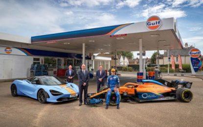 Gulf restores link with McLaren