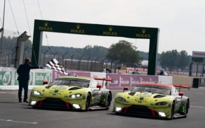 Aston Martin wins both GT Classes at the 88th 24 Hours of Le Mans plus the FIA World Endurance Championship (WEC) manufacturers' title