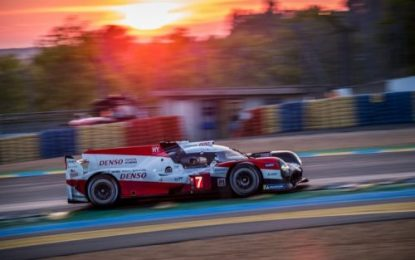 Le Mans 24 hours: 12-hour update; TOYOTA GAZOO Racing in command