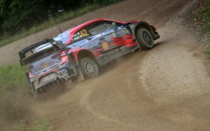 Rally Estonia; Day 1 Report – HYUNDAI 1-2 with Ott Tänak & Craig Breen