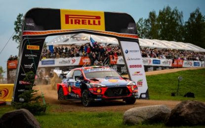 WRC: Rally Estonia; Home hero Tänak supreme on home roads – Breen still 2nd