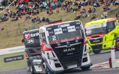 Challenging new season outing for T Sport Bernau MAN at FIA ETRC – Most; CZ
