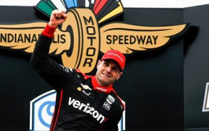 Power holds off Herta for Victory at INDYCAR Harvest GP Race 2; Turbelant times for Daly