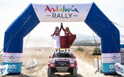 Victory for TOYOTA GAZOO Racing Hilux at Andalucía Rally