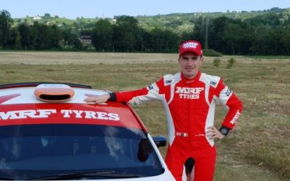 In conversation with Craig Breen, Team MRF Tyres Hyundai i20 R5 pre-ERC Rally Fafe Montelongo