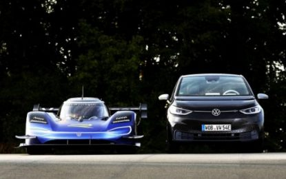 Romain Dumas is an all-rounder in motorsport; shares his thoughts about the VW ID.R & ID. family