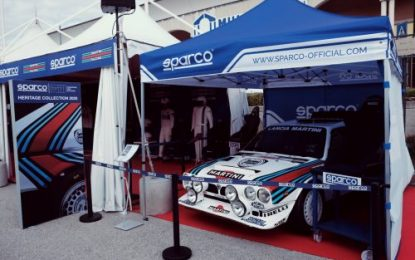 Rallylegend: Sparco unveils the new MARTINI Racing Heritage Collection