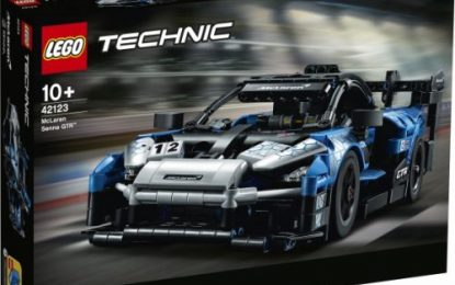 LEGO Technic McLaren Senna GTR created