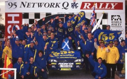 Wales Rally GB celebrates 25 years since Colin McRae's historic world title win