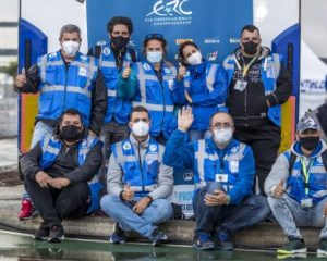 ERC stars support FIA Volunteers & Officials Weekend on Rally Islas Canarias