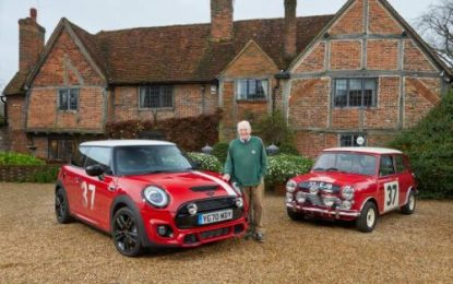 Rally legend Paddy Hopkirk get new Limited Edition MINI, named in his honour
