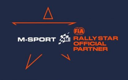 M-Sport Selected as FIA Rally Star Partner