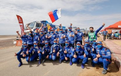 18th Dakar title for KAMAZ-master team with 1-2-3 finish at 2021 Rally