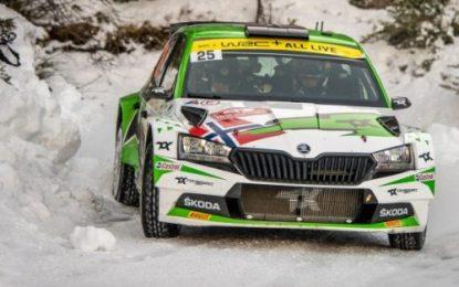 ŠKODA AUTO Motorsport supported Andreas Mikkelsen wins WRC2