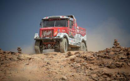Instaforex Loprais Praga's Aleš Loprais & Crew to the FOUR on Dakar!