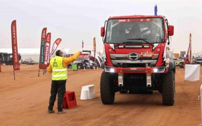 HINO TEAM SUGAWARA: 11th overall & No.1 in the Under 10-litre Truck Class