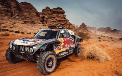 Dakar 2021: SS10: MINI JCW Buggy enters the finishing straight in the lead!