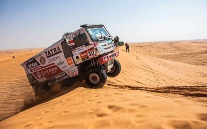 "Tatra Buggyra Racing & Buggyra Zero Mileage Racing – ""The second half of the Dakar Rally is going to be very difficult!"""