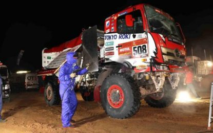 Hino Team Sugawara Crew finishes 'Brutal, Persistence & Testing Stage 10' – 10th Place overall